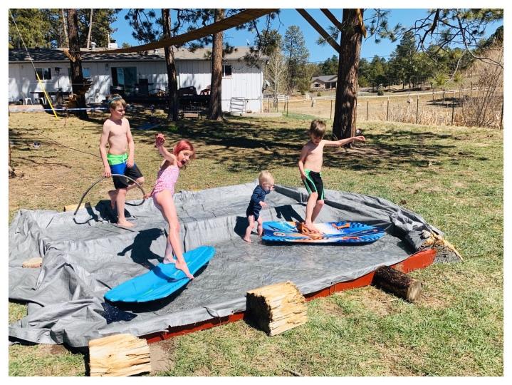DIY pool…
